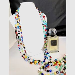 Jewelry - 2-COLORFUL BEADED STRANDS